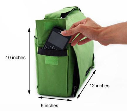Grab & Go Bag Measurements
