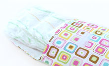 The Diaper Pouch - open with diapers
